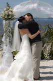 Baiser Wedding Photo stock