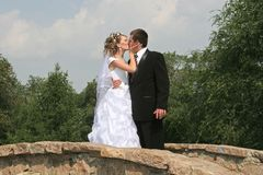 Baiser Wedding Photos stock