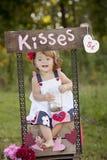 baisers photographie stock libre de droits
