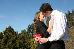 Baisers de couples image libre de droits