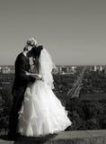 Baisers de couples Photo stock