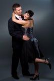 Baisers de couples d'amour Photo stock