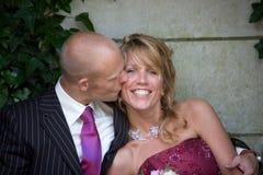 Baisers de la mariée image libre de droits