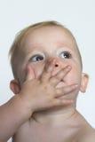 Baisers de soufflement Photos libres de droits