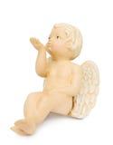 Baisers de soufflement d'ange de cupidon Images libres de droits
