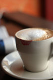 Baisers du café Photo libre de droits