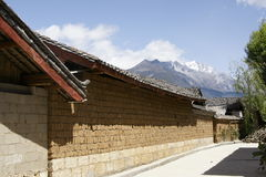 Baishaxiang村庄 免版税库存照片