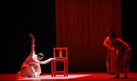 """Baishixueyi-dans drama""""Mei Lanfang† Royalty-vrije Stock Foto"""