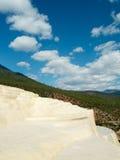 Baishuitai de la terraza del agua blanca Foto de archivo libre de regalías