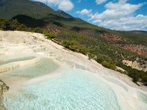 Baishuitai do terraço da água branca Foto de Stock Royalty Free