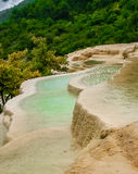 Baishutai Water Terraces Royalty Free Stock Photography