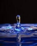 Baisse bleue Photos stock