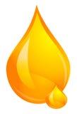 Baisse d'huile Photos libres de droits