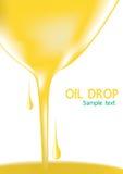 Baisse d'huile ou palmier à huile vers le bas Photographie stock libre de droits