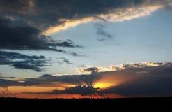 Baisse dans le désert du Néguev Photos libres de droits