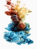 Baisse de couleur Photo libre de droits