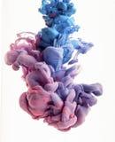 Baisse de couleur Photographie stock