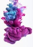 Baisse de couleur Image libre de droits