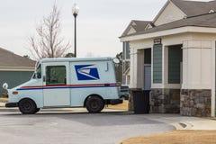 Baisse de courrier de service postal des USA Photographie stock libre de droits