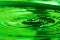 Baisse de l'eau Image libre de droits
