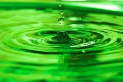 Baisse de l'eau Images stock