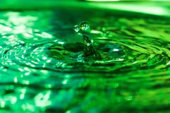 Baisse de l'eau Photographie stock libre de droits