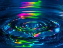 Baisse de l'eau Photos stock