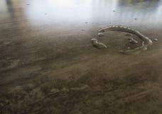 Baisse de l'eau sur le Tableau Photo libre de droits
