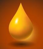 Baisse de pétrole illustration stock