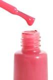 Baisse de vernis à ongles Photographie stock