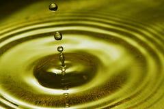 Baisse gelée de l'eau Photographie stock libre de droits