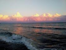 Baisse sur la Mer Noire Images libres de droits