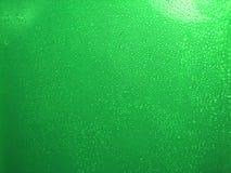 Baisse verte de l'eau Photographie stock