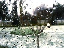 Baisses de fenêtre Images libres de droits