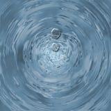 Baisses de l'eau Photographie stock