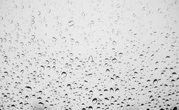 Baisses de l'eau après pluie Image libre de droits