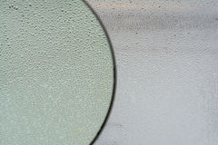 Baisses de l'eau sur la glace Photo libre de droits