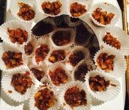 Baisses de noix de coco Photographie stock