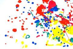 Baisses de peinture Image libre de droits