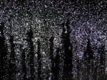 Baisses de pluie Photographie stock libre de droits