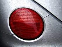 Baisses de rosée arrière de lumière et d'eau de véhicule Photo stock