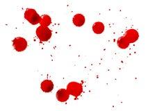 Baisses de sang Photographie stock libre de droits