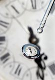 Baisses de temps Photo stock
