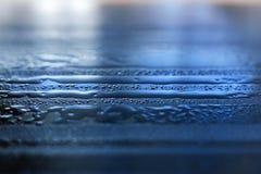Baisses et réflexions de l'eau Photographie stock