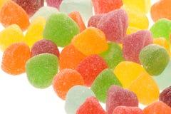 Baisses sucrées ou gelées de gomme Image libre de droits