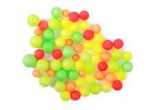 Bait foamed plastic color Royalty Free Stock Photos