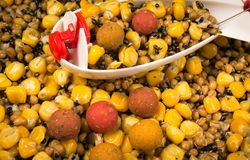 Bait rocket carp fishing. The method of feeding angling baits. Bait rocket carp fishing. Carp anglers seeking to prebait effectively. This Bait Rocket can be stock photography