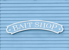 Bait Shop Sign Stock Photos