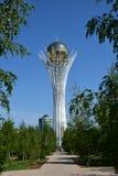 The BAITEREK tower in Astana / Kazakhstan Royalty Free Stock Photo