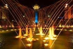The BAITEREK tower in Astana / Kazakhstan Stock Photos